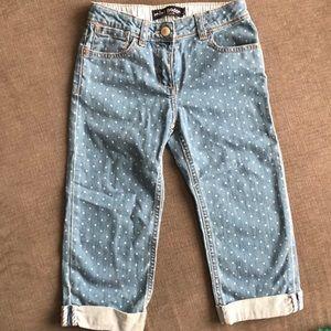 Girls Mini Boden Capri pants